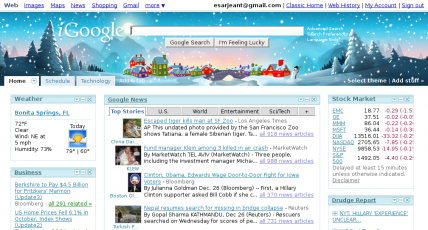 iGoogle Homepage