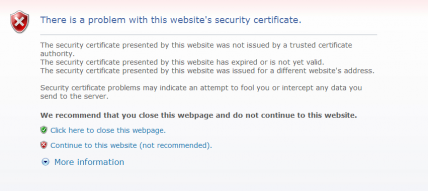 IE7 Security Error