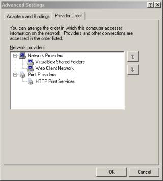 Network Provider Order