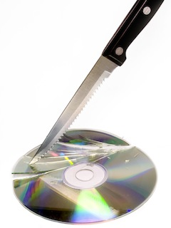 Knife to Disc